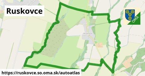 ikona Mapa autoatlas  ruskovce.so