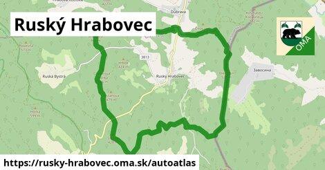 ikona Mapa autoatlas  rusky-hrabovec