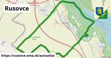 ikona Mapa autoatlas  rusovce