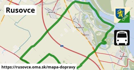 ikona Mapa dopravy mapa-dopravy  rusovce