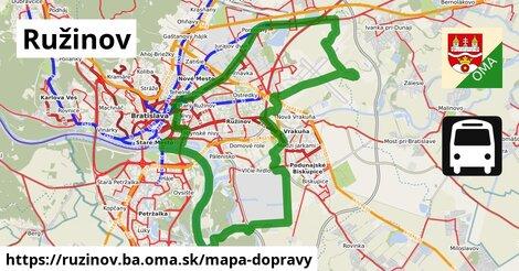 ikona Ružinov: 767km trás mapa-dopravy  ruzinov.ba