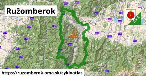 ikona Ružomberok: 136km trás cykloatlas  ruzomberok