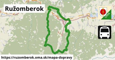 ikona Mapa dopravy mapa-dopravy  ruzomberok