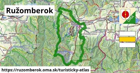 ikona Ružomberok: 135km trás turisticky-atlas  ruzomberok