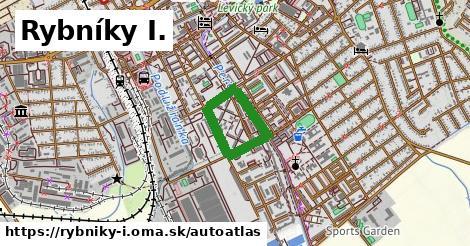 ikona Mapa autoatlas  rybniky-i