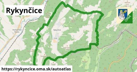 ikona Mapa autoatlas  rykyncice