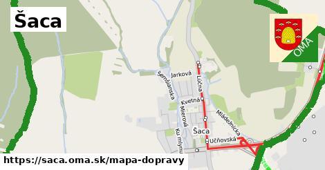 ikona Mapa dopravy mapa-dopravy  saca