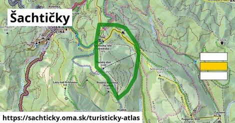 ikona Turistická mapa turisticky-atlas  sachticky