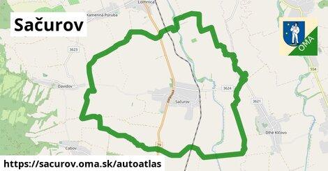 ikona Mapa autoatlas  sacurov