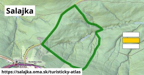 ikona Turistická mapa turisticky-atlas  salajka