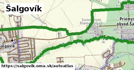 ikona Mapa autoatlas  salgovik