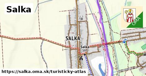 ikona Salka: 6,1km trás turisticky-atlas  salka