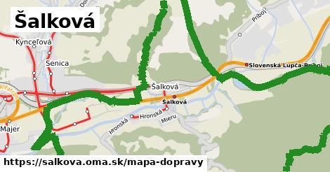 ikona Mapa dopravy mapa-dopravy  salkova