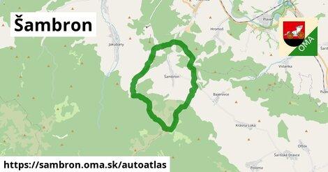 ikona Mapa autoatlas  sambron