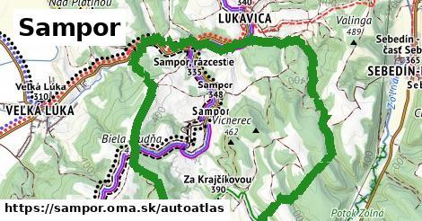 ikona Mapa autoatlas  sampor