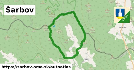 ikona Mapa autoatlas  sarbov