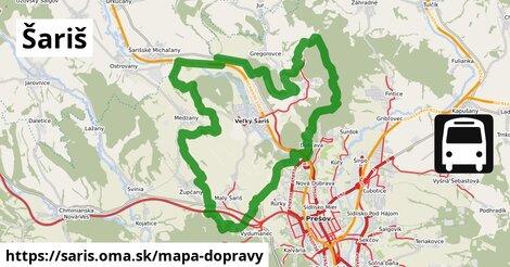 ikona Mapa dopravy mapa-dopravy  saris