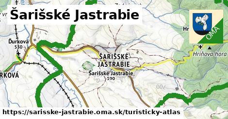 ikona Turistická mapa turisticky-atlas  sarisske-jastrabie
