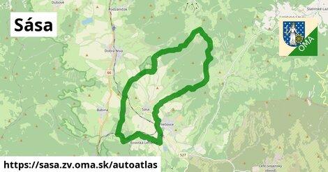 ikona Mapa autoatlas  sasa.zv