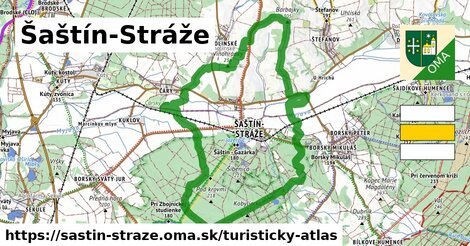 ikona Turistická mapa turisticky-atlas  sastin-straze