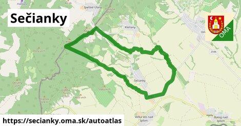 ikona Mapa autoatlas  secianky