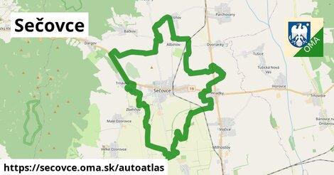 ikona Mapa autoatlas  secovce