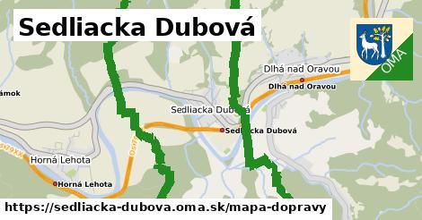 ikona Mapa dopravy mapa-dopravy  sedliacka-dubova