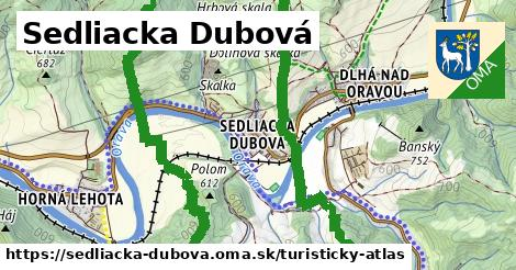 ikona Turistická mapa turisticky-atlas  sedliacka-dubova