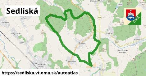 ikona Mapa autoatlas  sedliska.vt