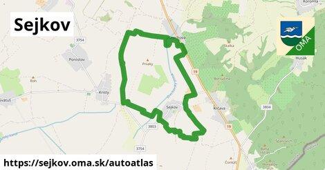 ikona Mapa autoatlas  sejkov