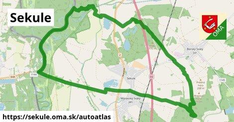 ikona Mapa autoatlas  sekule
