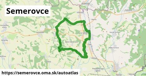 ikona Mapa autoatlas  semerovce