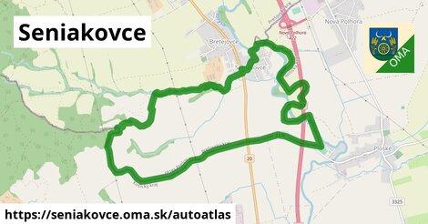 ikona Mapa autoatlas  seniakovce