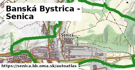 ikona Mapa autoatlas  senica.bb