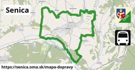 ikona Mapa dopravy mapa-dopravy  senica