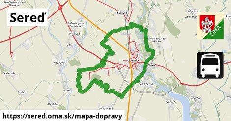 ikona Mapa dopravy mapa-dopravy  sered