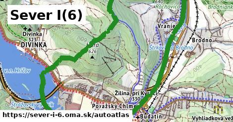 ikona Mapa autoatlas  sever-i-6