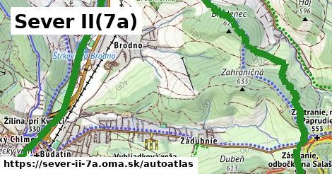 ikona Mapa autoatlas  sever-ii-7a
