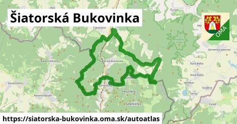ikona Mapa autoatlas  siatorska-bukovinka