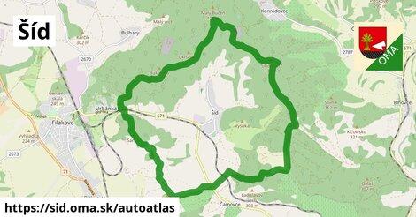 ikona Mapa autoatlas  sid