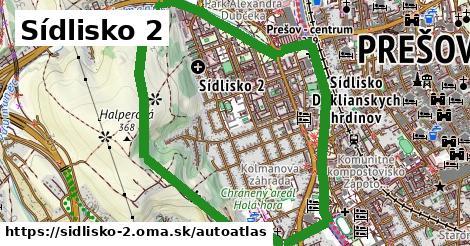ikona Mapa autoatlas  sidlisko-2
