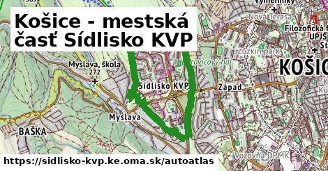 ikona Mapa autoatlas  sidlisko-kvp.ke