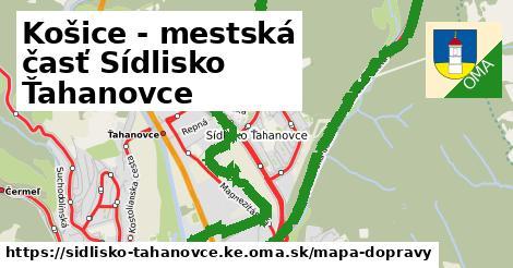 ikona Mapa dopravy mapa-dopravy  sidlisko-tahanovce.ke