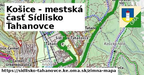 ikona Zimná mapa zimna-mapa  sidlisko-tahanovce.ke