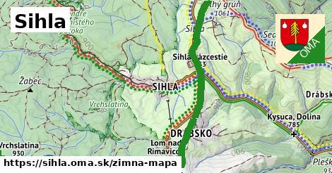ikona Zimná mapa zimna-mapa  sihla