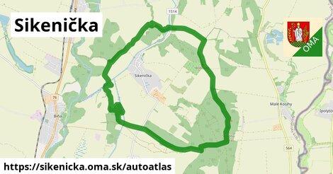 ikona Mapa autoatlas  sikenicka