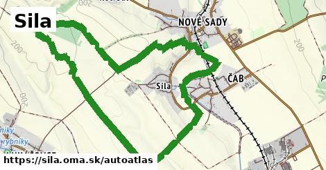 ikona Mapa autoatlas  sila