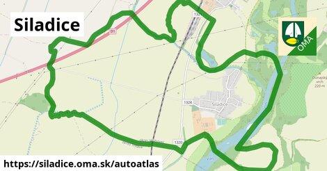ikona Mapa autoatlas  siladice