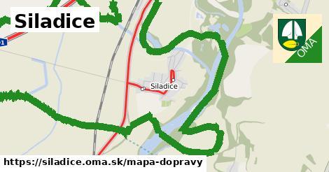 ikona Mapa dopravy mapa-dopravy v siladice