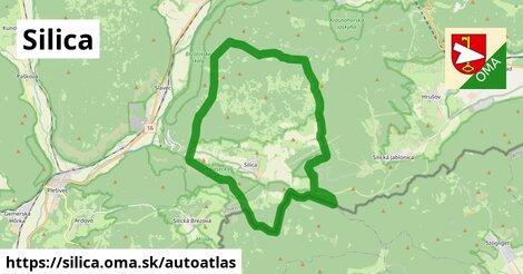 ikona Mapa autoatlas  silica